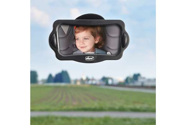 Espejo retrovisor viajes en coche for Espejo retrovisor coche bebe